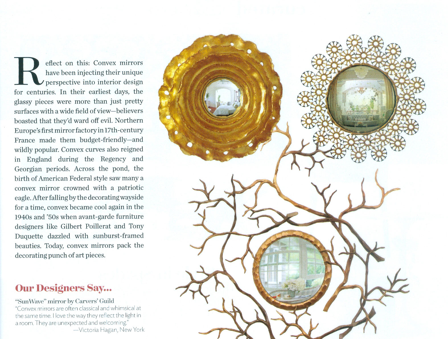 Traditional Home April 2016 | Carvers' Guild
